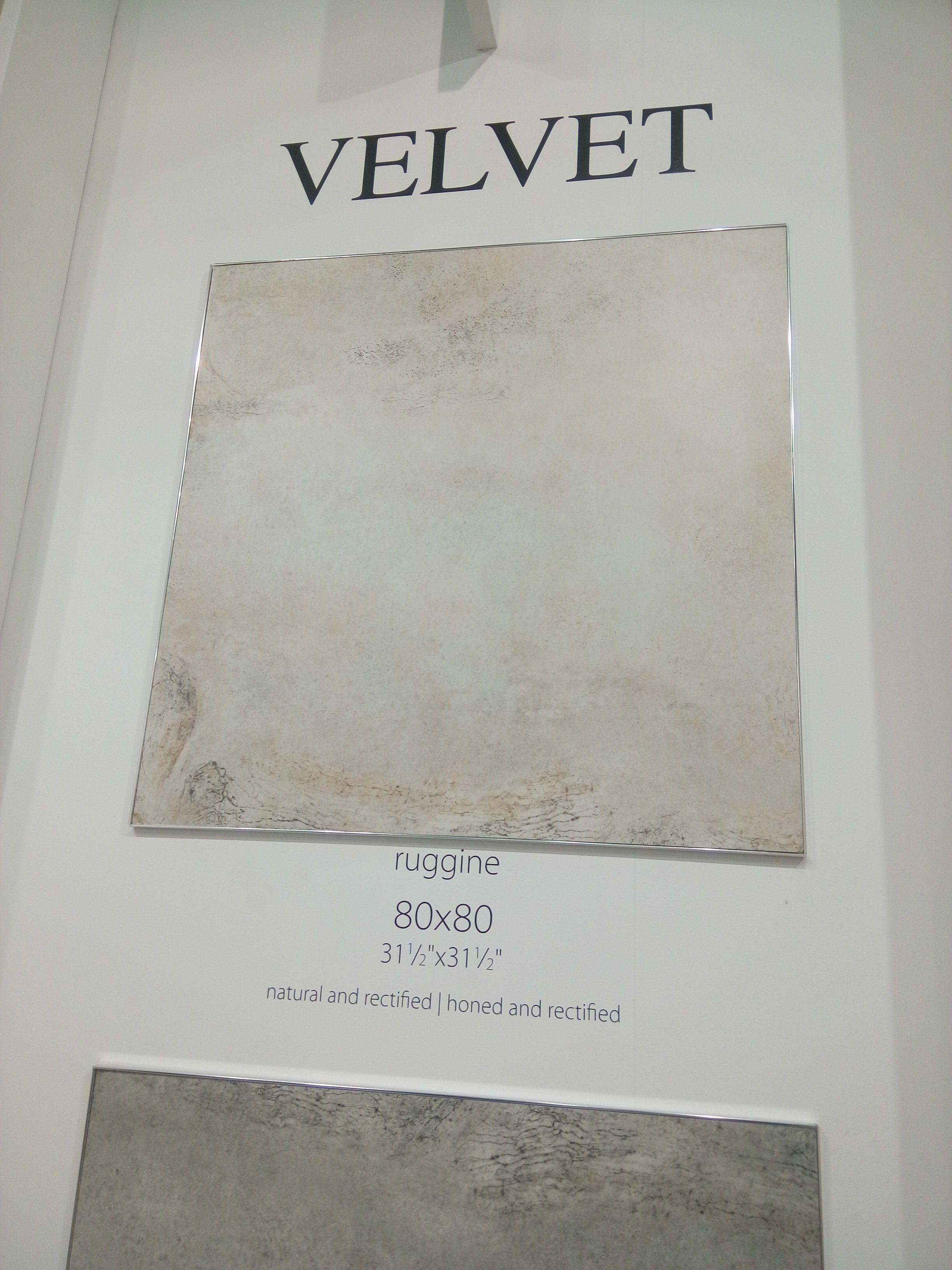 Velvet ruggine 80x80 La Fabbrica