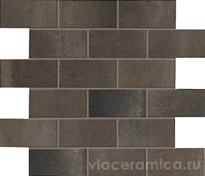 ASCOT STEELWALK Mosaico Brick Metal