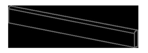 Battiscopa Metal.It Ergon