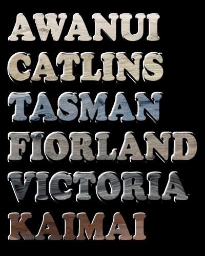 La Fabbrica Kauri colors