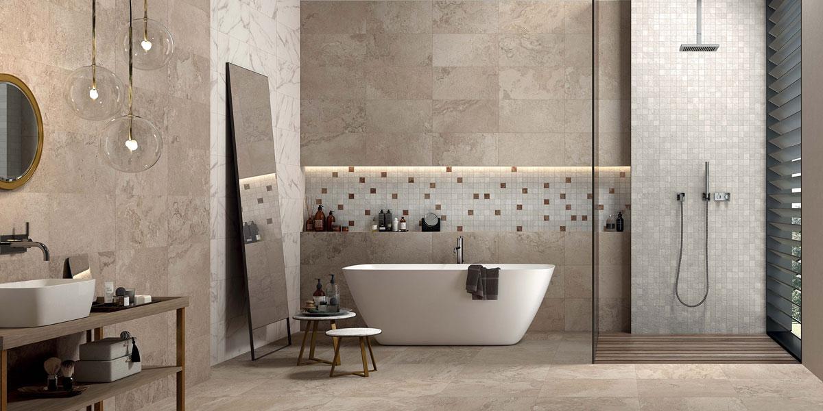 International ceramic tile collection