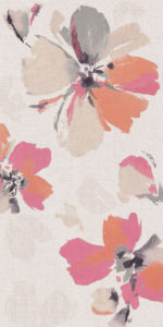 Ariana Canvas dec. flora cotton 60x120