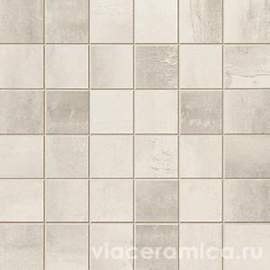 Мозаика STWM10RL MIX STEELWALK CROME RETT/LAPP ( 36PZ ) 29,6X29,6
