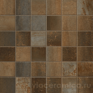 Мозаика STWM60RL MIX STEELWALK RUST RETT/LAPP ( 36PZ ) 29,6X29,6