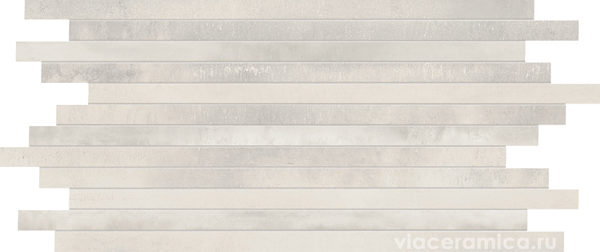 Мозаика STWS10RL STICK STEELWALK CROME RETT/LAPP 29,6X59,5