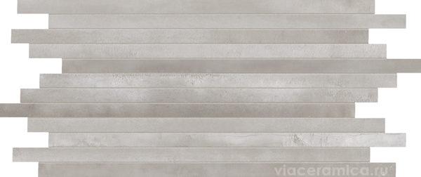 Мозаика STWS40RL STICK STEELWALK NIKEL RETT/LAPP 29,6X59,5