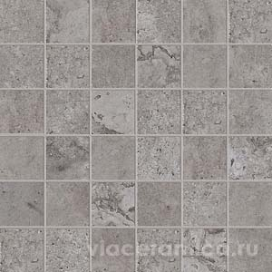 Мозаика на сетке PF6261 ALPES RAW MOS. QUADR. LEAD 30X30