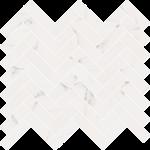 ABK SENSI MOS CHEVRON STATUARIO WHITE SABLE' 30X30