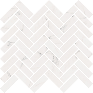 ABK SENSI MOS CHEVRON STATUARIO WHITE SABLE' 30X30