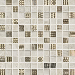 Ascot Gemstone Mosaico Ivory