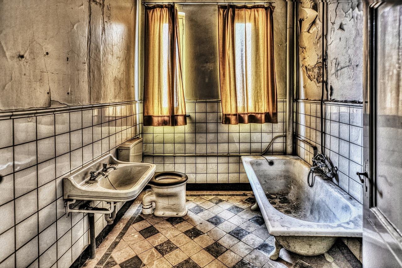 Советская ванная комната