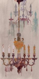 Ariana Canvas decoro chandelier beige