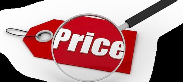 Прайс-лист, цены на плитку