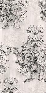 Ariana Canvas arabesque cotton