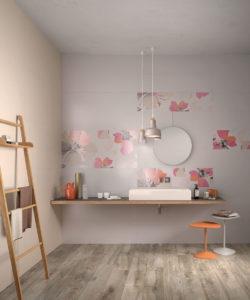 Ariana Canvas cotton + beige + flora