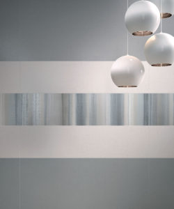 Ariana Canvas cotton + grey + decoro evanescence grey