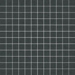 Ariana Canvas mosaico mini canvas black 30x30