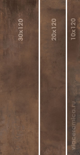 ABK INTERNO 9 MIX SIZES RUST 60X120