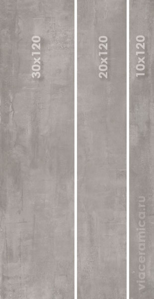 ABK INTERNO 9 MIX SIZES SILVER 60X120