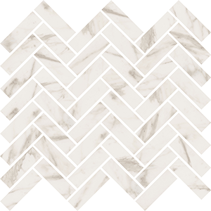 ABK SENSI MOS CHEVRON CALACATTA SELECT SABLE' 30X30