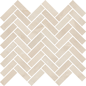 ABK SENSI MOS CHEVRON SAHARA CREAM SABLE' 30X30