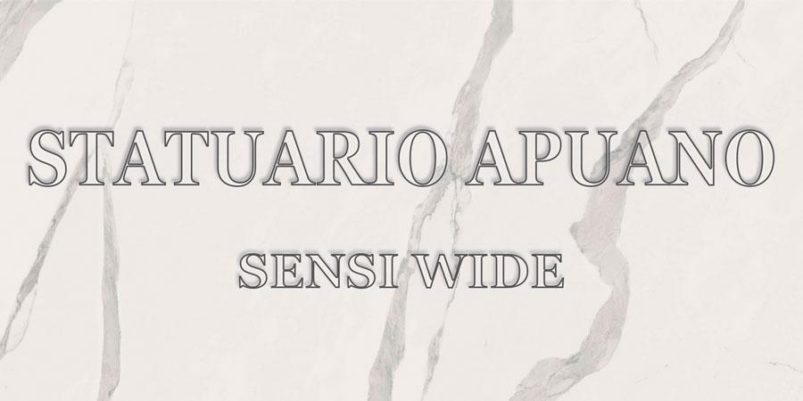 ABK SENSI WIDE STATUARIO APUANO
