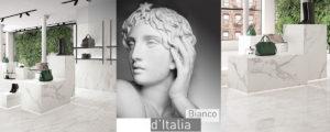 Bianco d'Italia Provenza – три белых мрамора в одной коллекции