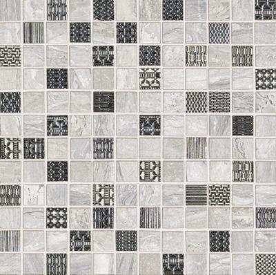 Ascot Gemstone Mosaico White/silver