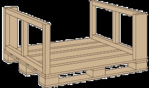 Поддон для плитка ABK 120x120