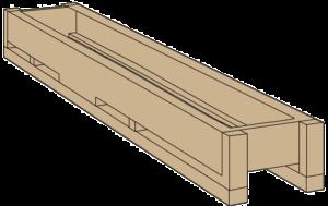 Поддон для плитка ABK 26x200