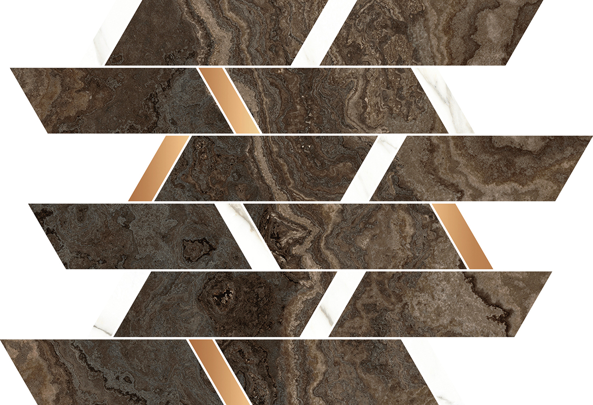 Naxos Rhapsody 118881 MOSAIC BRICK BROWN
