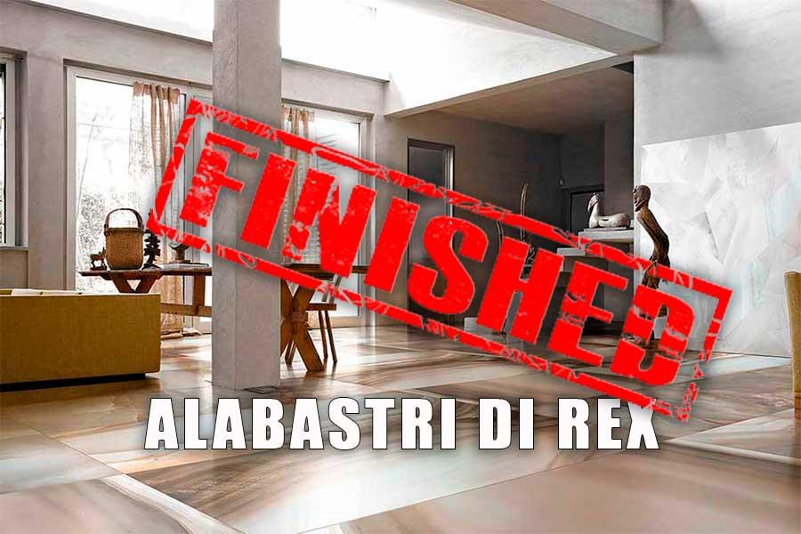 Alabastri di rex finished