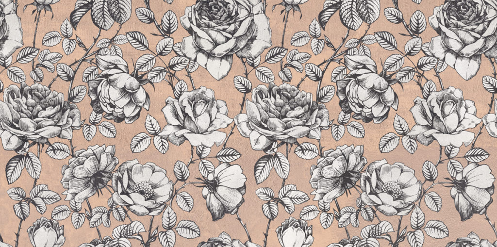 ABK Wide and Style mini ROSES 60X120